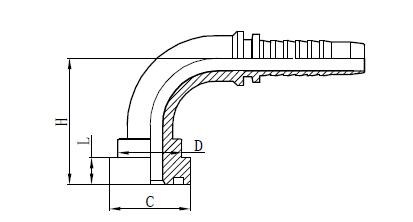 4SH Hose ასამბლეის ფირმა Drawing